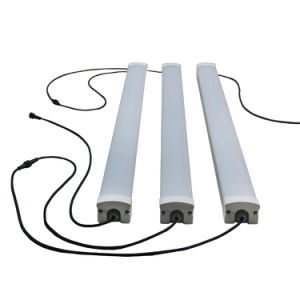 60W 5700~6600lm Frosted Striped LED Triproof Tube Light Waterproof pictures & photos