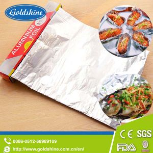 Household Aluminium Foil Wrapping Paper for Food Cooking pictures & photos