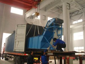 Electric Material Feeding Rubber Belt Conveyor (B1000) pictures & photos