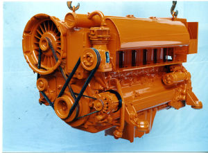 B/F413f Series in-Line Air Cooled Deutz Diesel Engine (F4L413FR)