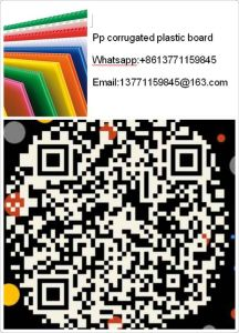 Wholesale for Recycled Plastic PP Hollow Sheet/Board pictures & photos