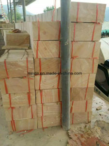 China Yellow Wood Sandstone Culture Stone Mushroom Tiles pictures & photos