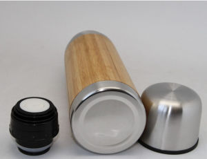 Eco-Friendly Bamboo Mug and Mug Bamboo and Double Wall Travel Bamboo Mug pictures & photos