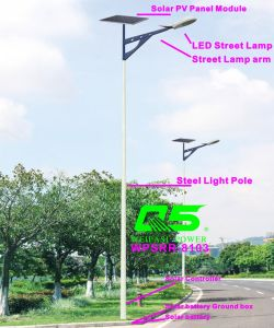 WPSRR-8103 3~15m Municipal Road Hot DIP Galvanized Steet Light Pole style pictures & photos