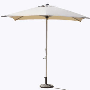 Commercial Grade Stainless Steel 3m Square Garden Parasol