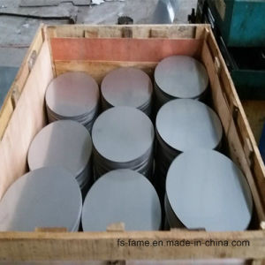 Cold Rolled 201 Aod Material Stainless Steel Circle pictures & photos