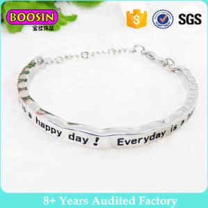 Factory Wholesale Silver Elegant Cuff Bangle #B138 pictures & photos
