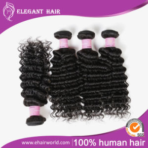 Peruvian Deep Wave Hair 8A Grade pictures & photos