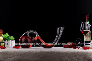 Fancy High Quality Crystal Wine Glass Decanter (XJQ-023) pictures & photos