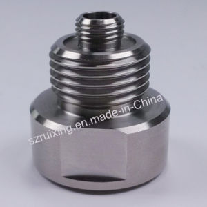 CNC Machining of Stainless Steel Part