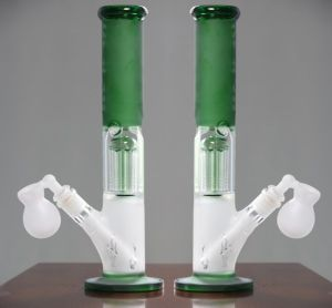 Green Recycler Glass Water Pipes Water Recycler Oil Rigs
