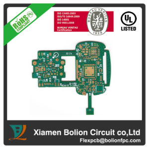 Double-Sided Flexible PCB with Aluminum Stiffener pictures & photos