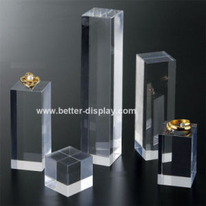 Custom Acrylic Ring Display Stand Block pictures & photos