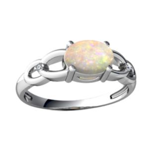 Guangzhou Huifu Chain Design Stainless Steel Opal Ring pictures & photos