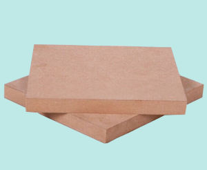 Chinese Plain MDF (Medium-density fiberboard) for Furniture pictures & photos