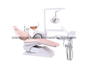 Ce, ISO Approved Dental Unit Chair with Operating Lamp pictures & photos
