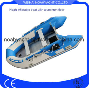 Inflatable Rubber Dinghy Boats with Aluminum Floor pictures & photos