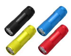 Mini 9LED Flashlight Factory Price Wholesale LED Flashlight pictures & photos