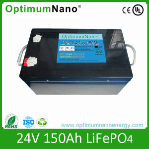 24 V 150ah Solar System LiFePO4 Battery Pack pictures & photos