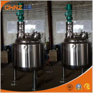 Stainless Steel Double Jacketed Mixing Tank pictures & photos