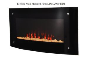 Indoor Dd5 Electric Wall Mounted Fireplace