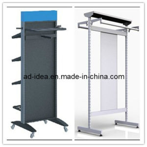 Wall Mounted Slatwall Shop Display Stand/Exhibition Stand for Garment (GARMENT-1115) pictures & photos