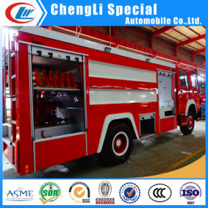 8000liters 10t 12ton Water Foam Tank HOWO Fire Fighting Truck for Sale pictures & photos