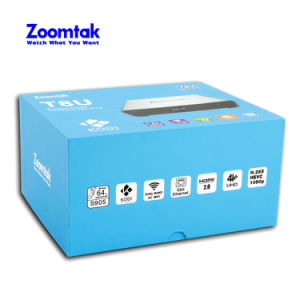 Newest Metal TV Box Zoomtak T8u with Kodi 16.0 Bluetooth 4.0 pictures & photos