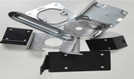 Aluminum Punching Parts, Fingerprint Door Lock, Biometric Fingerprint Door Lock pictures & photos
