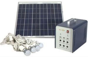 Plug & Play Portable 200c Solar Lighting System