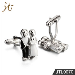 Fashion Nice Quality Coupler Design Cuff Links for Jewelry pictures & photos