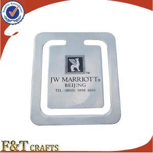 Factory Wholesale Simple Design Metal Gift Bookmark (FTBM3102A) pictures & photos
