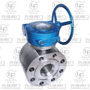 Worm Gear Stainless Steel Wafer Flange Ball Valve (SQ372F-600Lb) pictures & photos