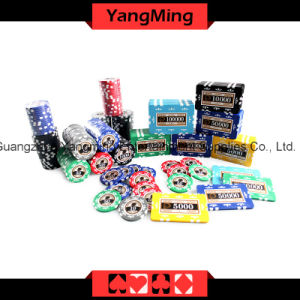 High-Grade Stickers Poker Chip Set 760PCS (YM-TZCP0046) pictures & photos