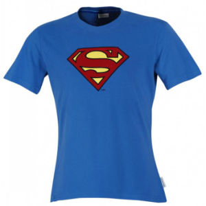 Superman Short Sleeve Printed T-Shirt with Good Quality (TS234W) pictures & photos