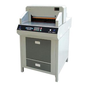 Professional Manufacturer Electrical Program-Control Paper Cutting Machine (WD-4808HD) pictures & photos