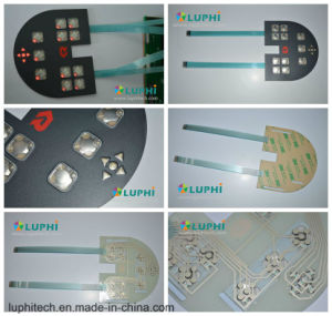 Membrane Control Keypad Membrane Switch Printing Overlay with LED Backlighting pictures & photos
