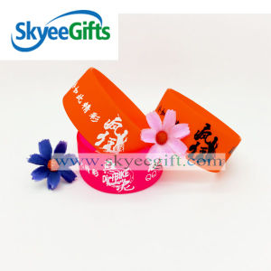 Colorful Silicone Wristband Inspirational Bracelet pictures & photos