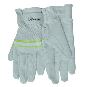 Full Finger Goatskin Abrasion Resistance Climbing Gloves pictures & photos