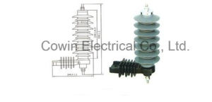 24kv Polymer Lighting Arrester Surge Arrester pictures & photos