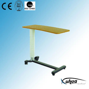 Hospital Medical Height Adjustable Cantilever Dinner Table (L-6) pictures & photos