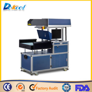 China Good Price 3D Dynamic CO2 Laser Marking Machine for Jeans and LGP pictures & photos