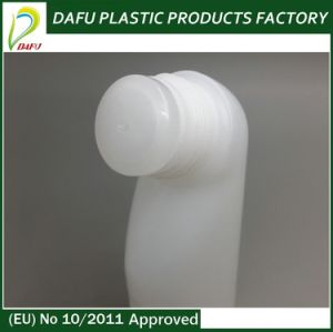 PE 40ml Plastic Special Shape Bottle with Blue Cap pictures & photos