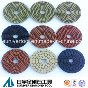 Colorful Series Standard Diamond Wet Use Polishing Pads pictures & photos