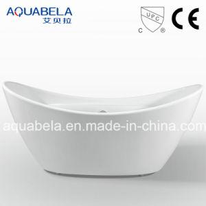 Wide Rim Sanitary Ware Acrylic Whirlpool&Jacuzzi Tub Bathtub (JL604) pictures & photos