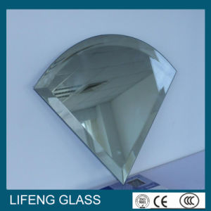Irregular Special Shaped Aluminum/Silver Beveled Mirror/Glass Mirror