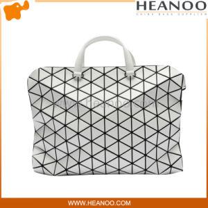 Women Large PVC Tonneau Matte Fashionable Handbags Designer Tote Bag pictures & photos