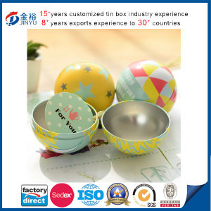 Wholesale Ball Shaped Metal Chocolate Box pictures & photos