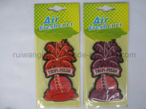 Promotion Car Freshener, Cheap Giveaway Gifts Air Freshener Paper with Logo, Manufacturer Air Freshener pictures & photos