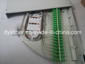 24 Core Sc/APC Swing Fiber Optical Patch Panel pictures & photos